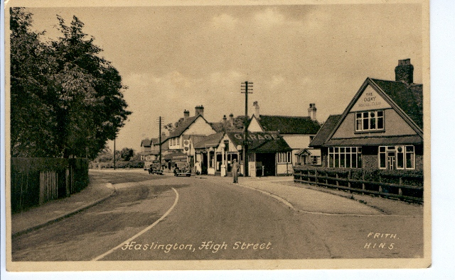 Old Haslington Photos (Courtesy David Green)