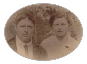 Harry Poole (The Elder - b.1880) with his wife Harriet (nee Waters)