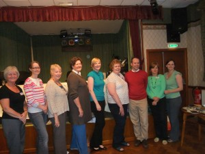 Adam with the Haslington WI Committee