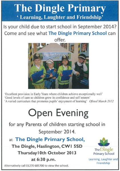 Dingle Open Evening
