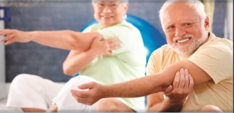 New Sessions: Over 50s Keep Fit – Learn Crafts and Enjoy Lunch