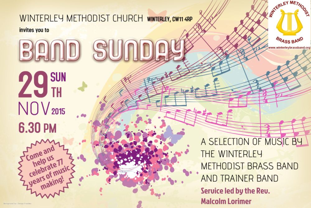 Final poster_band sunday