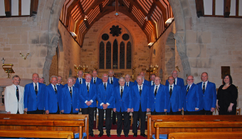 Crewe Male Voice Choir at Crewe Green