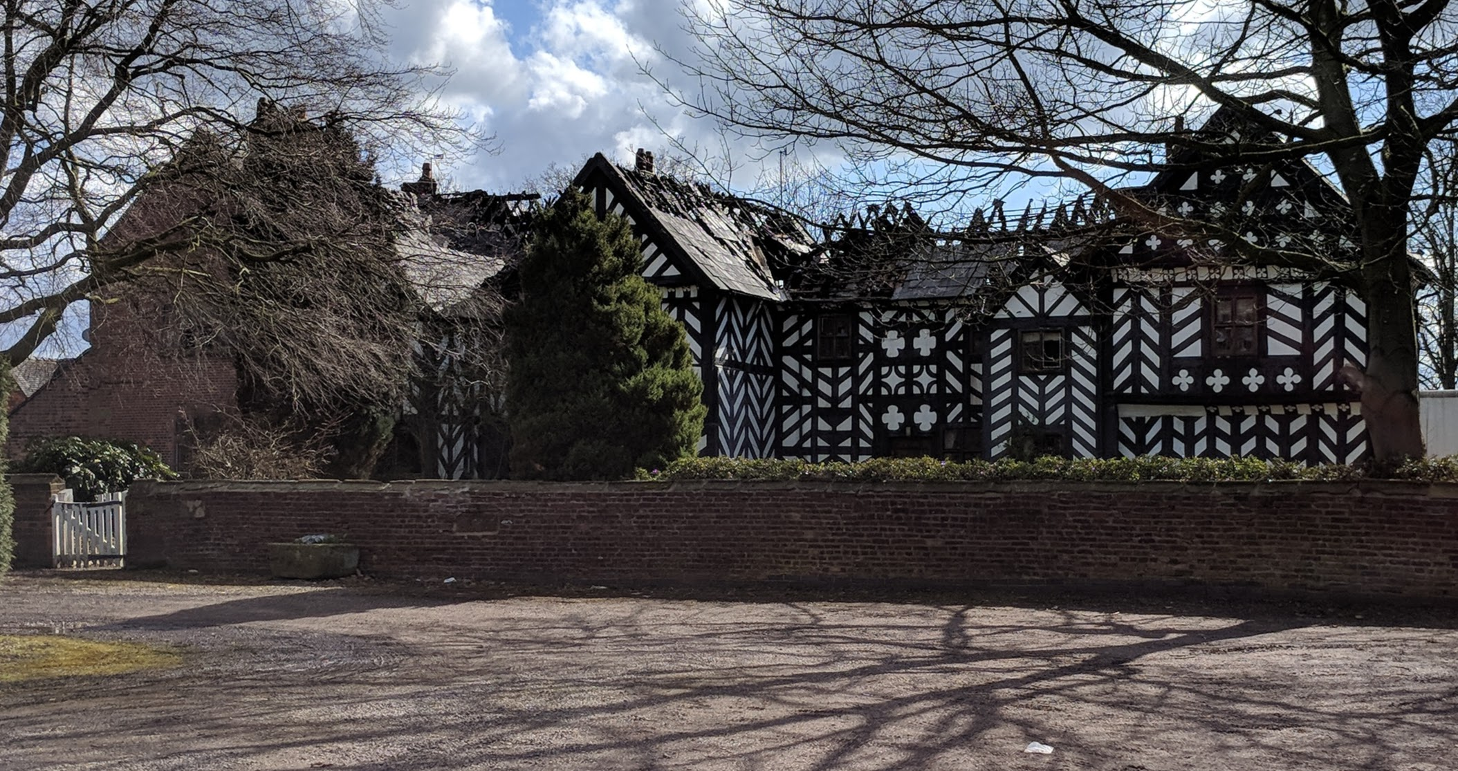 Haslington Hall Fire