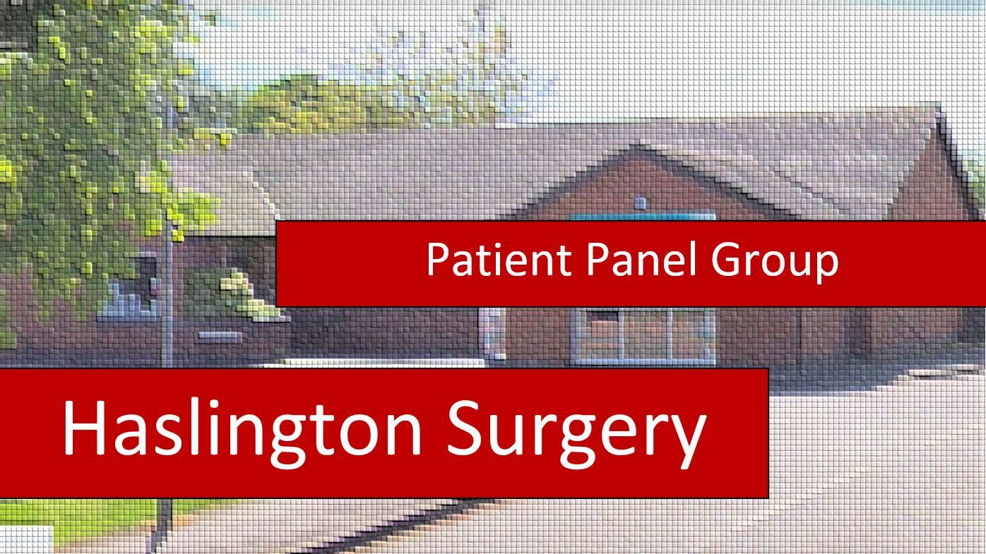 Patient Panel Survey 2019 – DEADLINE: 31st July