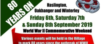 WWII Commemorative Weekend – 6th to 8th Sept 2019