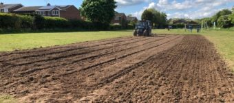 Gutterscroft Football Pitch Refurbishment